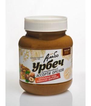 Урбеч Амбо Бутербродный Ассорти орехов