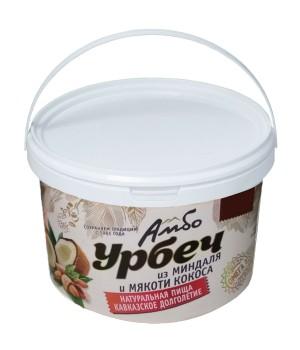 Урбеч Амбо из ядер миндаля и мякоти кокоса 1 кг.