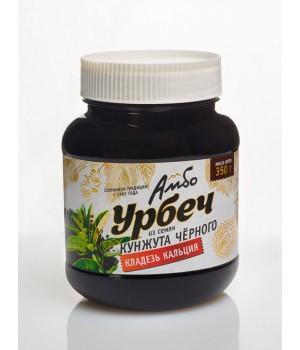 Урбеч Амбо из семян черного кунжута