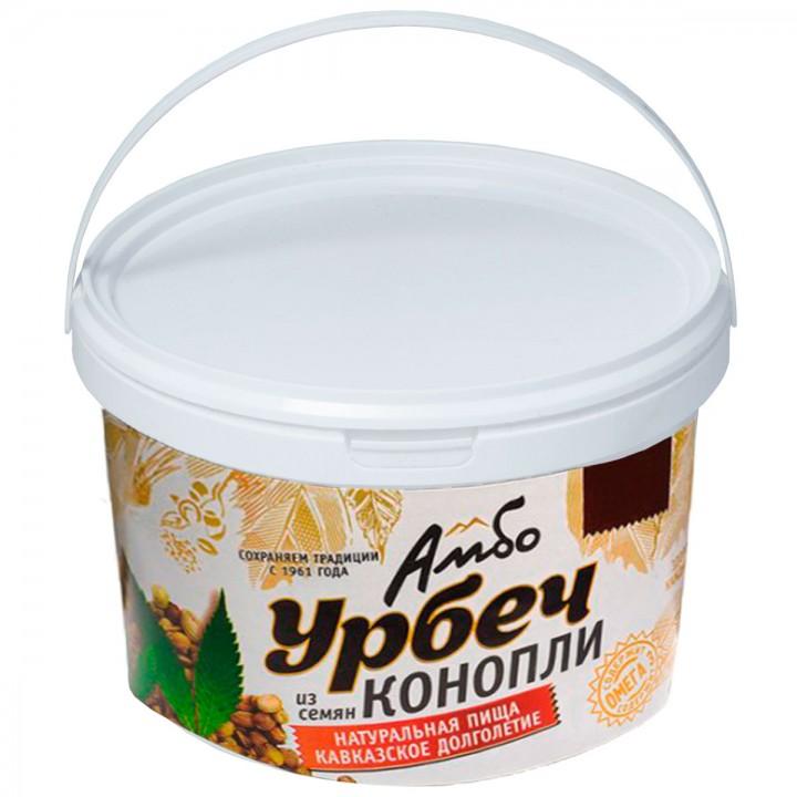 Урбеч Амбо из семян конопли 1 кг.