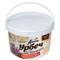 Урбеч Амбо из семян коричневого льна 1 кг.