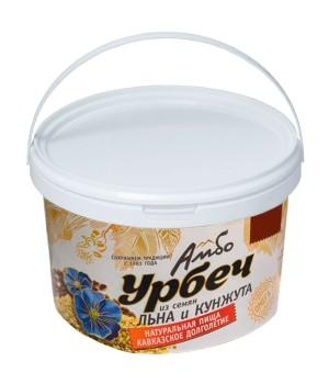 Урбеч Амбо из семян льна и кунжута 1 кг.