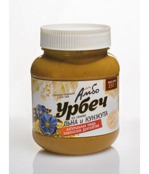 Урбеч Амбо из семян льна и кунжута