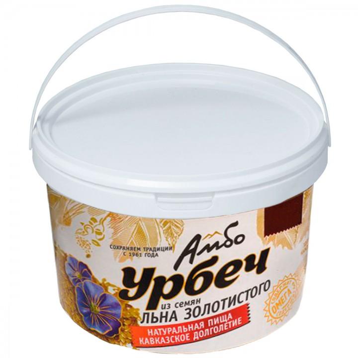 Урбеч Амбо из семян золотистого (белого) льна 1 кг.