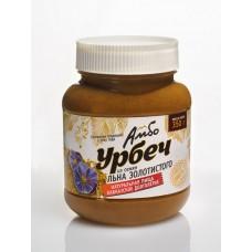 Урбеч Амбо из семян золотистого (белого) льна