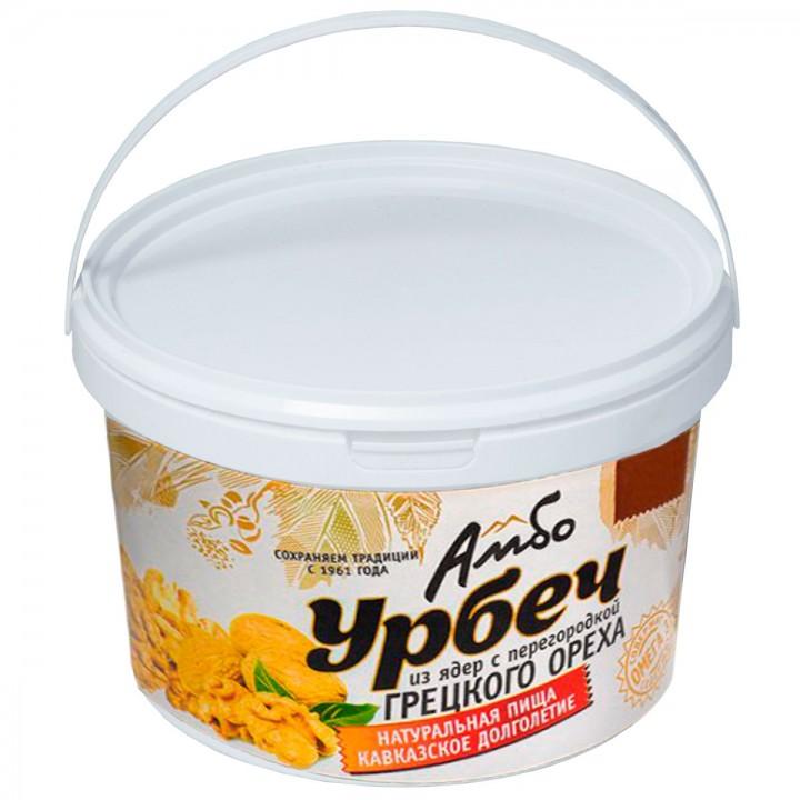 Урбеч Амбо из ядер грецкого ореха с перегородкой 1 кг.