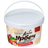 Шоколадная паста АМБО, урбеч из ядер фундука с какао боами 1 кг