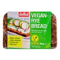 Хлеб Delba цельнозерновой вегетарианский со злаками, 300 гр. УПАКОВКА 9 шт