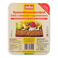 Хлеб Delba с семенами подсолнечника, 250 гр.
