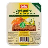 Хлеб Delba из 4-х злаков, 250 гр.