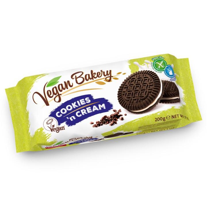 Какао печенье с ванильной начинкой Coppenrath Vegan 200 гр.