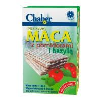 Chaber Хлебцы Маца с помидорами и базиликом 180 гр.