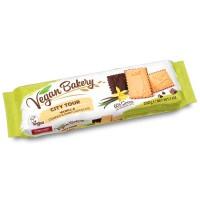 Coppenrath City Tour Печенье с ванилью в горьком шоколаде, 200 гр. (вегетарианское)