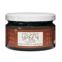 Урбеч Живой Продукт из семян коричневого кунжута, проростки
