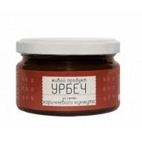 Урбеч Живой Продукт из семян коричневого кунжута, 225г
