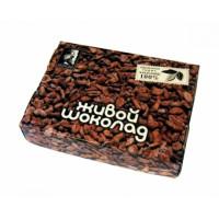 """""""Живой шоколад"""" - плитка из перемолотых какао бобов элитных сортов криольо"""