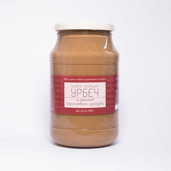 """Урбеч """"Живой Продукт"""" из семян коричневого кунжута, проростки, 1 килограмм"""